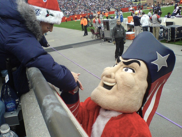 Pat the Patriot, based of the original cartoon| ©Christian Newton/Flickr