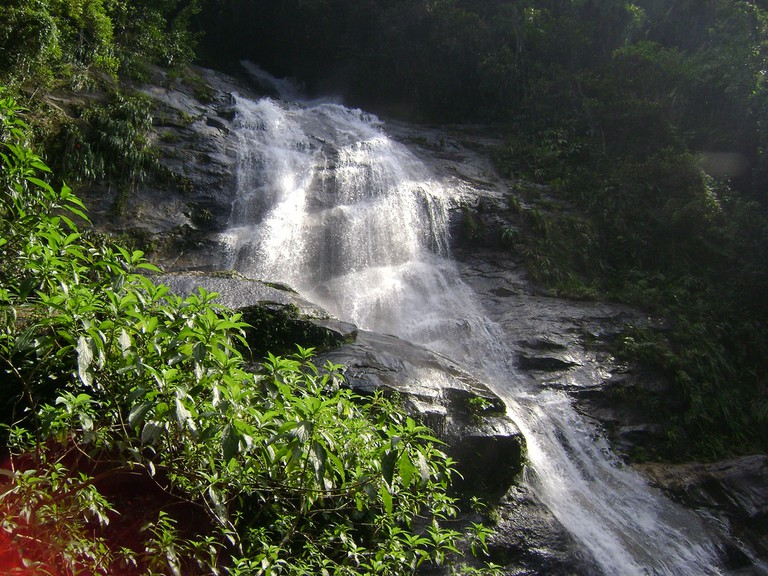 Waterfalls in the Tijuca rainforest |© Beth Castelo/Flickr