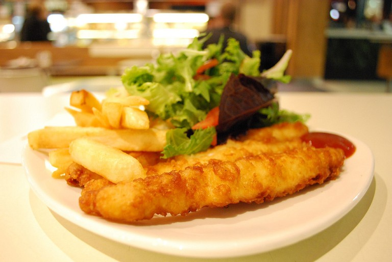 Fish and chips © Alpha/Flickr