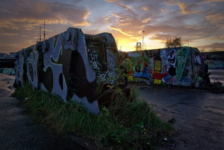 The northern docklands can get eerie after dark | © Bas Leenders / Flickr