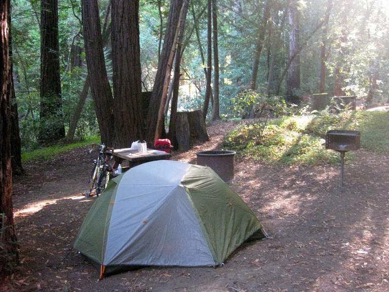 Camping © Bjorn/Flickr