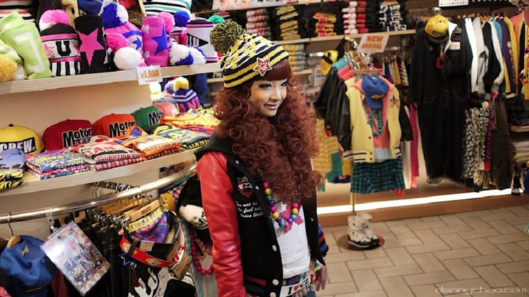 Dressed in a classic Harajuku street style look   © Danny Choo/Flickr