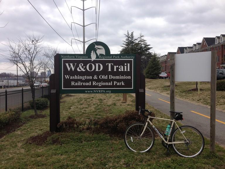 W&OD Trail | ©scorechedearth/Flickr