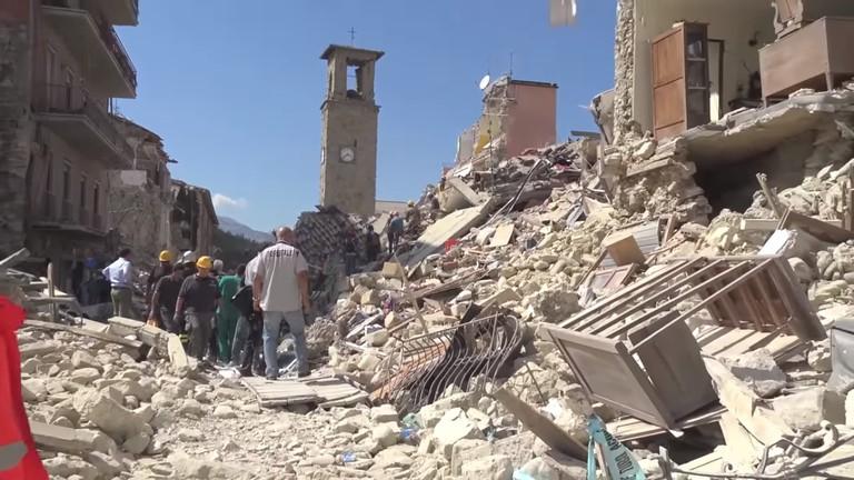 Amatrice earthquake   © WikiCommons