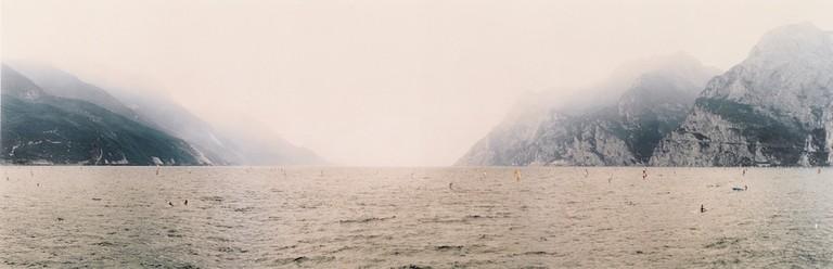 Andreas Gursky, Gardasee, 1986-93 © Sotheby's