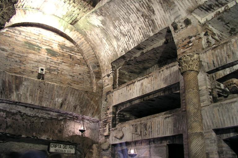 Catacombs of Callisto | © WikiCommons/Dnalor-01