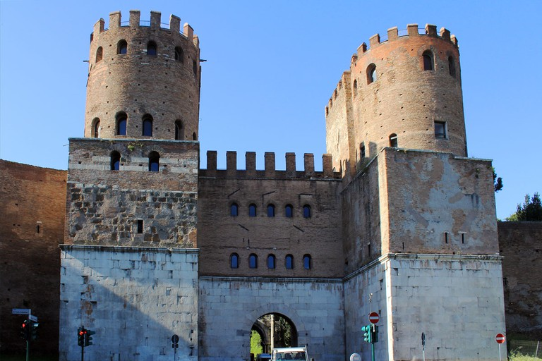 Porta San Sebastiano | © WikiCommons/Karelj
