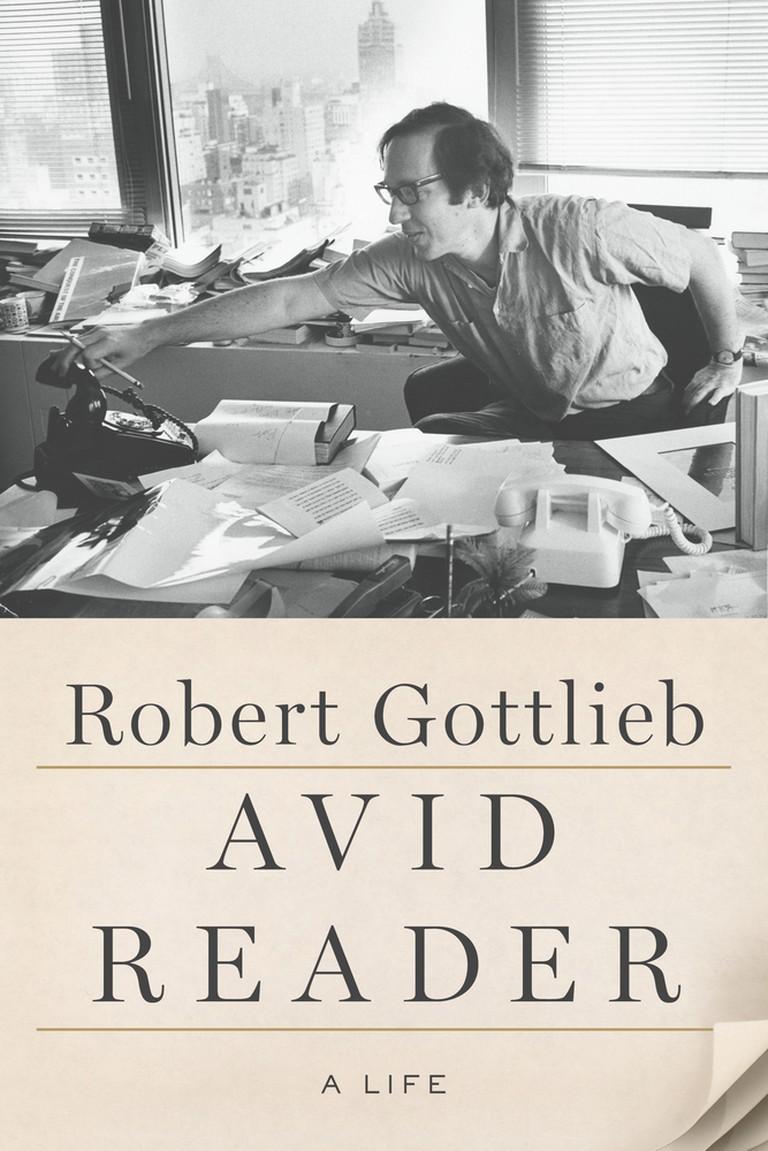 Avid Reader by Robert Gottlieb   Courtesy of Farrar, Straus and Giroux
