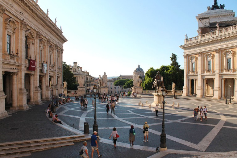 Capitoline Hill | ©Flickr/antonellaprof