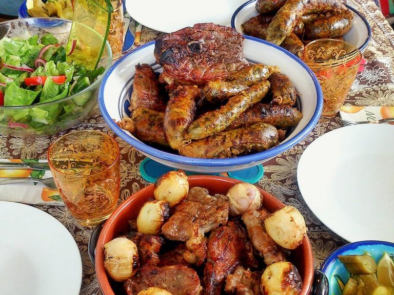 Eid Al-Adha, a carnivore's feast.   © Sarah Elmusrati