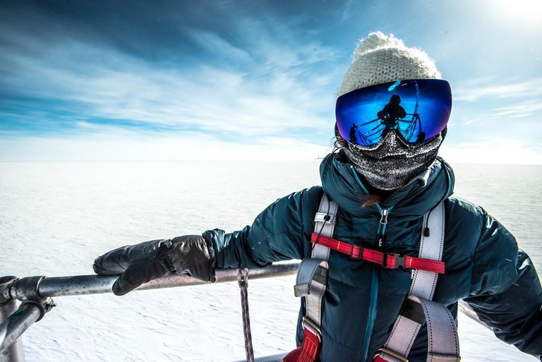 Beth in Antarctica|©Beth Healey