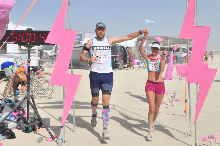 Burning Man Ultramarathon   Courtesy of Ben Kabatznik