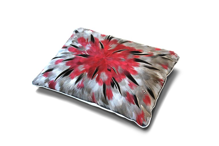 The Feather cushion (£590) | Courtesy of Aiveen Daly