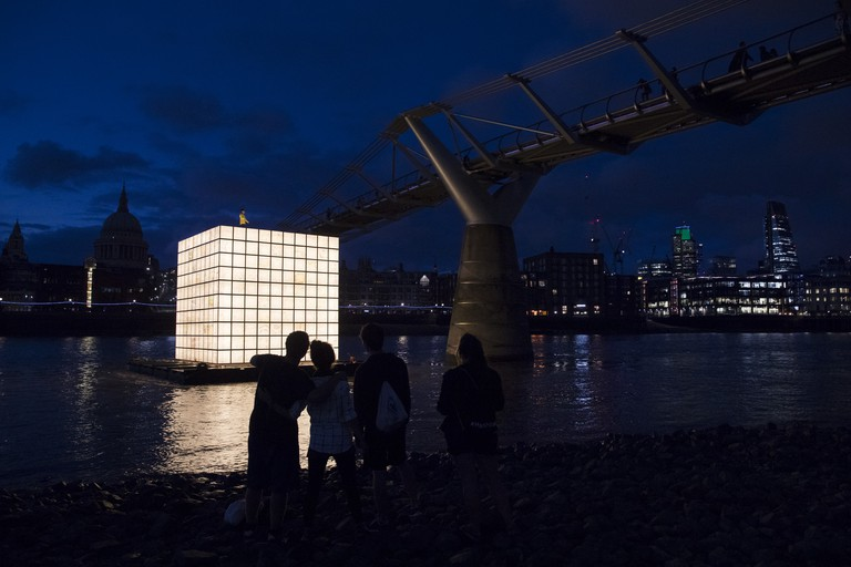 'Floating Dreams' by Ik-Joon Kang|Courtesy of the Totally Thames Festival