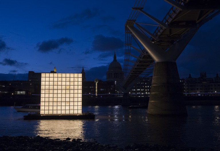 'Floating Dreams' by Ik-Joon Kang|Courteys of the Totally Thames Festival