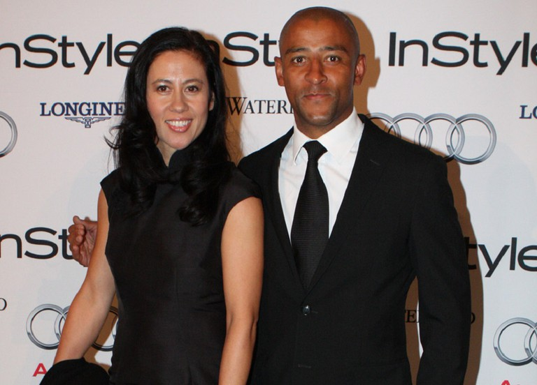 Retired rugby star Gregan and his wife pose for a photo | © Eva Rinaldi/WikiCommons