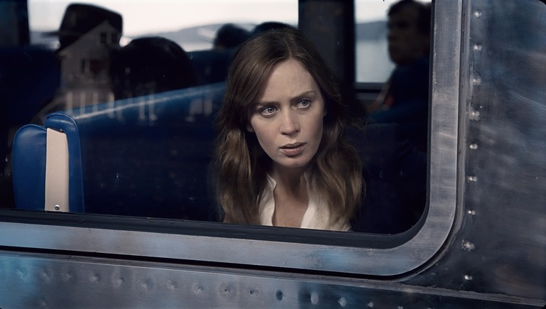 Emily Blunt as the girl on the train | © EOne