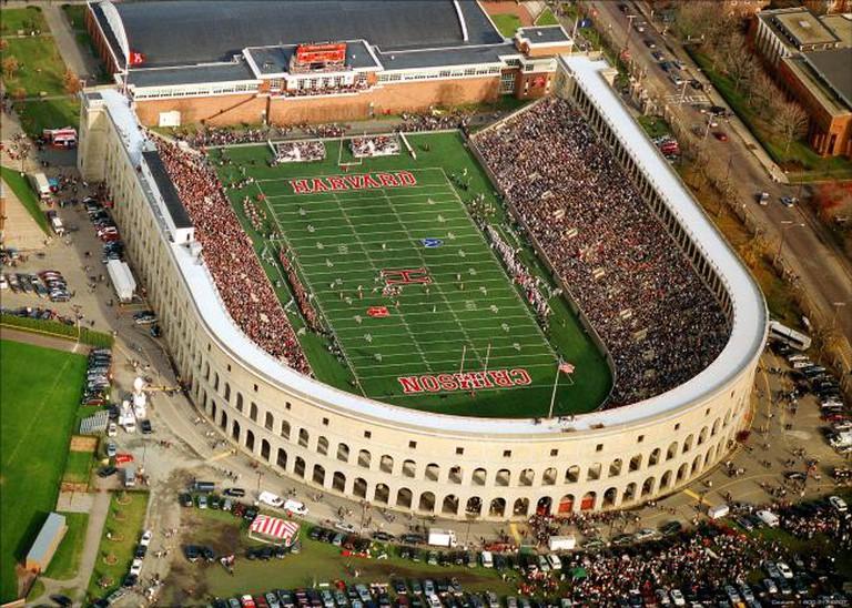 Harvard Stadium   ©Harvard Sports Information Dept/Wikipedia
