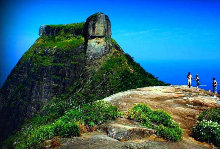 Hiking at Pedra Bonita |© courtesy of Rio Adventure tour operator