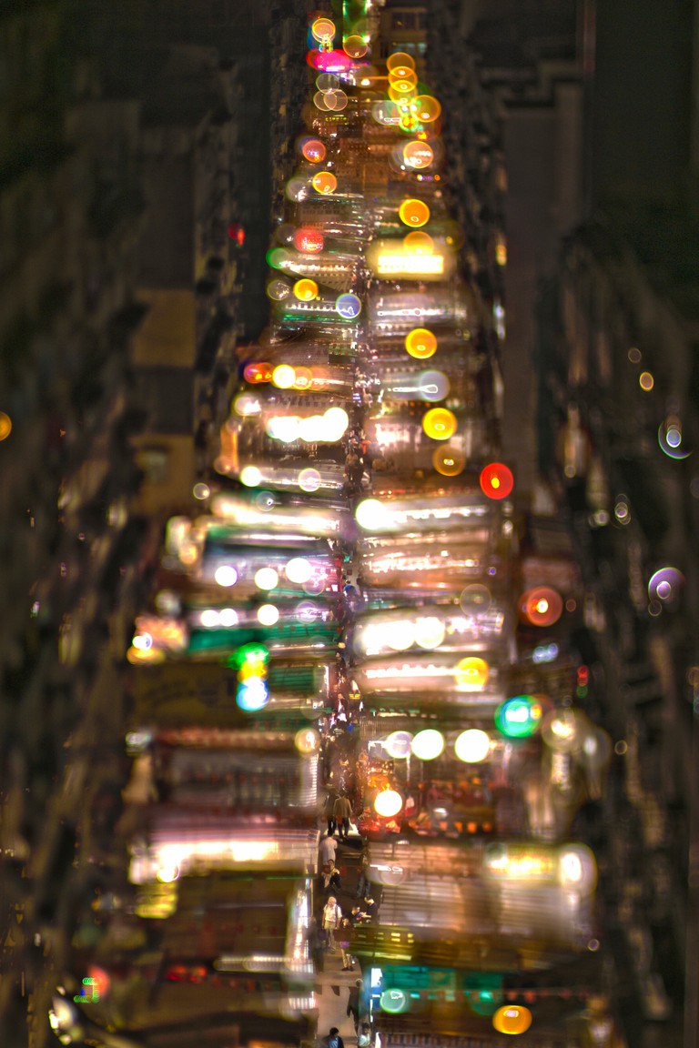 Temple Street, Hong Kong | © Anthony Lau