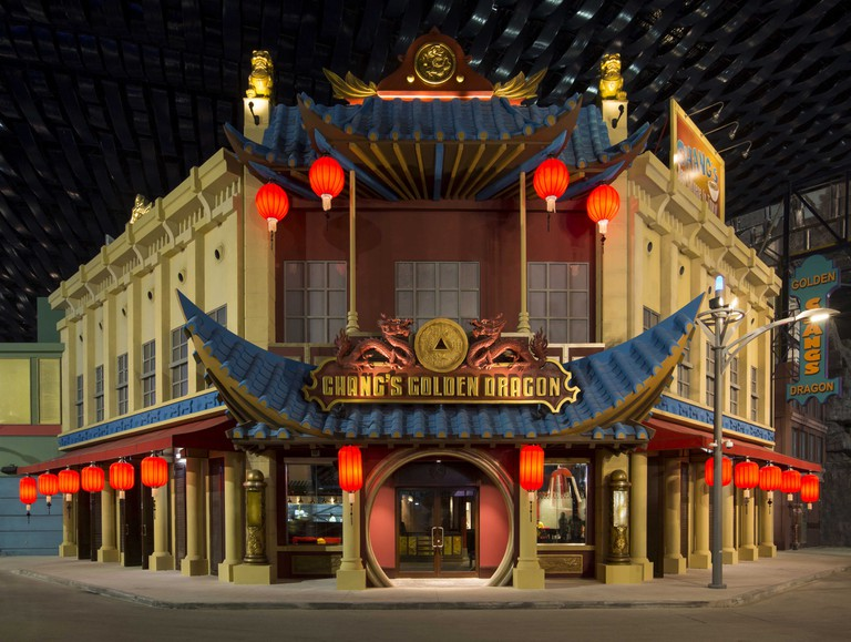 Chang's Golden Dragon at the Marvel Zone Courtesy of IMG Worlds