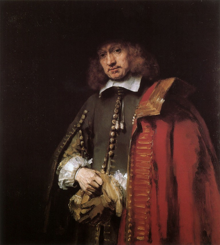 Rembrandt van Rijn: Portrait of Jan Six, 1654 | © Six Collection, Amsterdam / WikiCommons