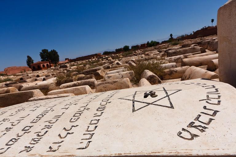 Jewish Cemetery, Marrakech | © Liam Davies, Fickr