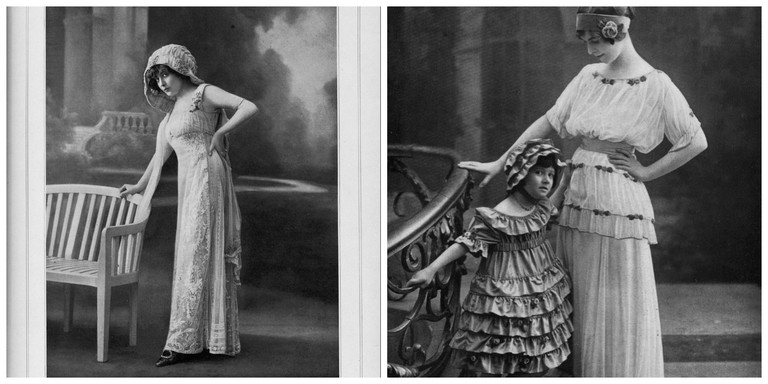 Lanvin dress from 1910 │© .pintuck ││ Lanvins dresses from 1914 │© .pintuck