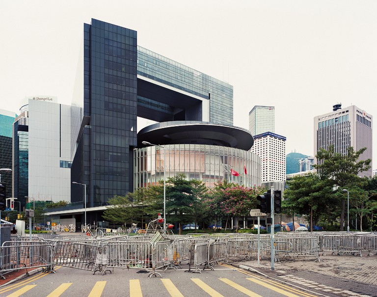Legislative Council Road, November 9, 2014 | © Johnny Gin