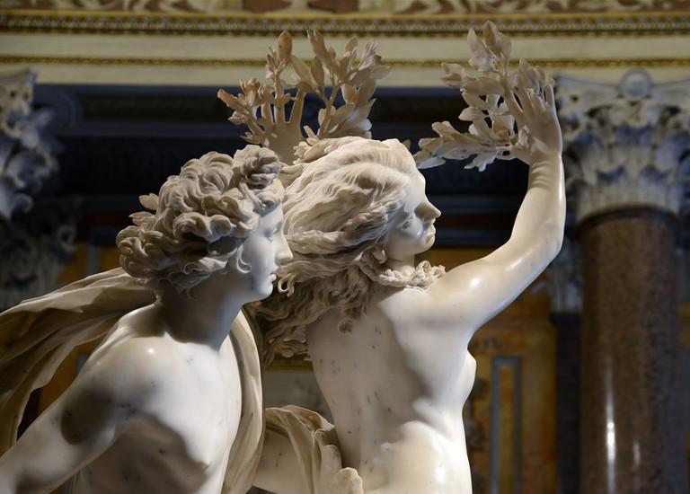 Bernini's Apollo and Daphne | © WikiCommons