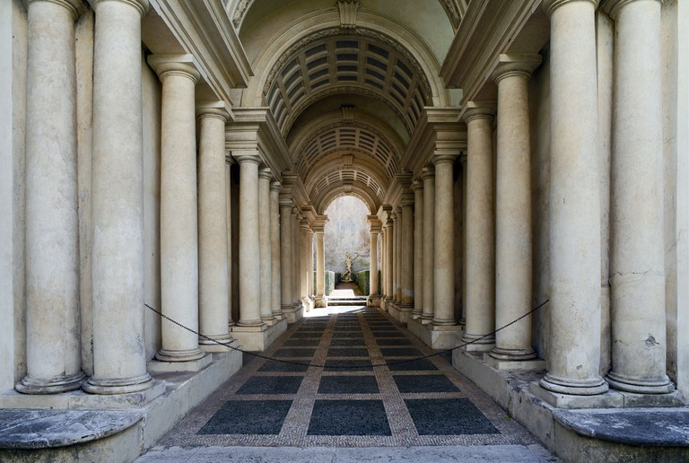 Borromini's Prospettiva | © WikiCommons