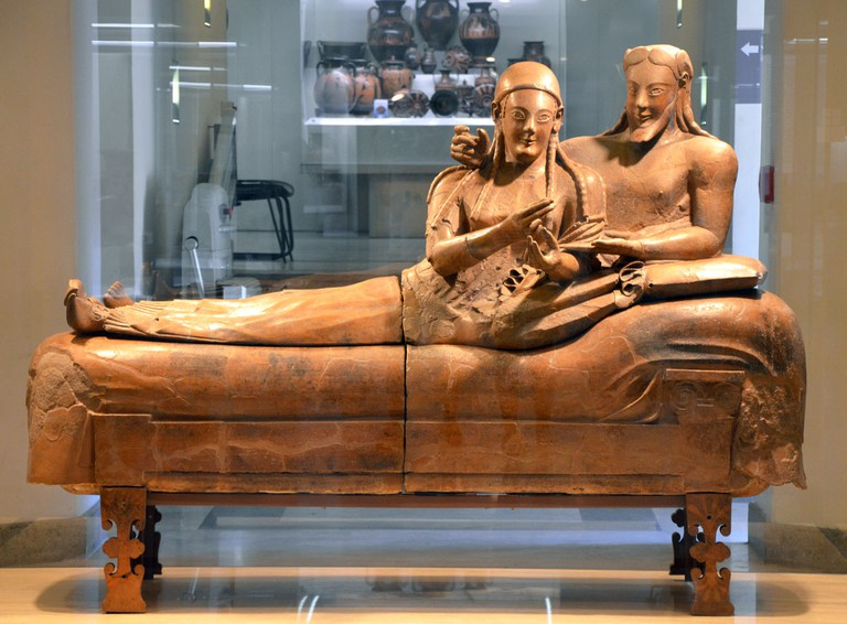 Sarcophagus of the Spouses | ©Flickr/Carole Raddato