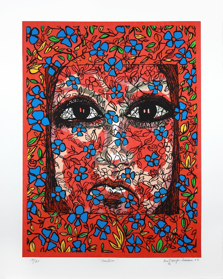 """Cautiva"" by Beatriz Mejia  Courtesy of Riverside Art Museum"