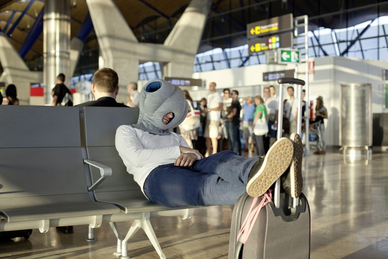 The Ostrich Pillow |© Ostrich