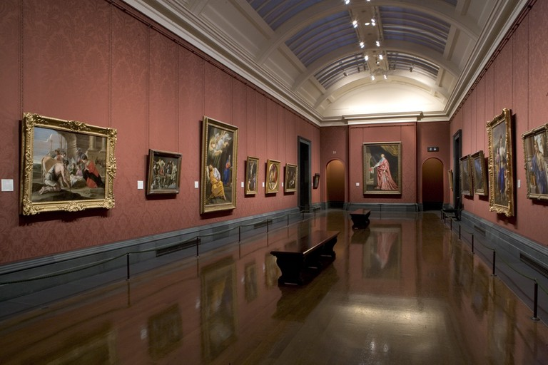 An interior wing of the National Gallery|© National Gallery, London