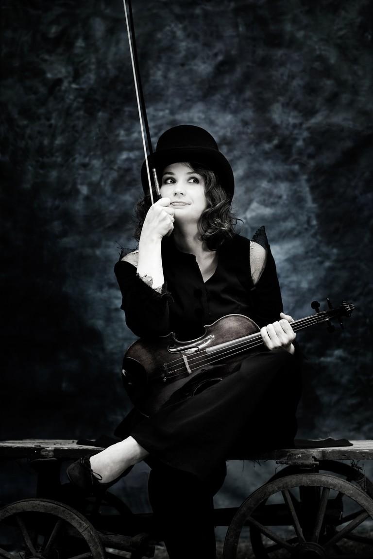 Moldovan-Austrian violinist Patricia Kopatchinskaja   © Julia Wesely