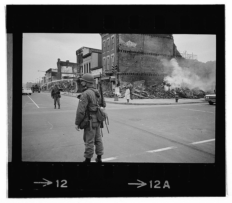 Riot Aftermath | © Courtesy of Library of Congress