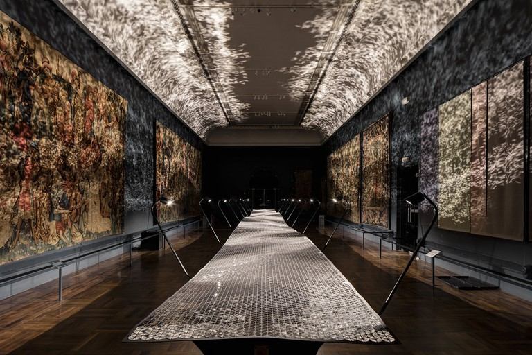 Foil by Benjamin Hubert Layer, Supported by Braun|©Ed Reeve/London Design Festival