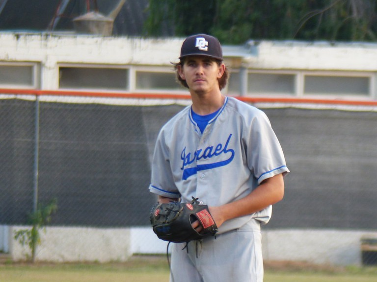 Dean Kremer is the first Israeli to be drafted by an MLB team | © Margo Sugarman