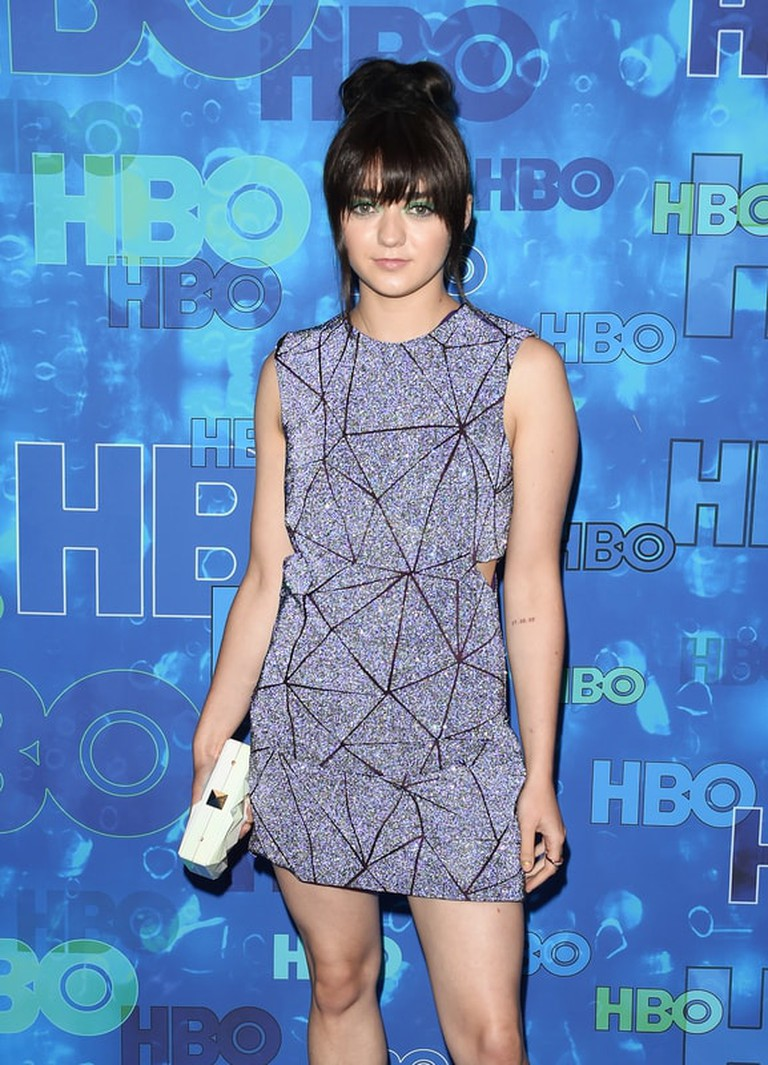 Startraks Photo/REX/Shutterstock  Maisie Williams HBO Emmys After Party, Los Angeles, Sep 2016