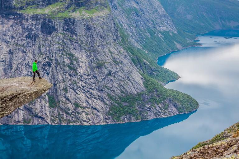 Trolltunga, Norway © Lukasz Janyst