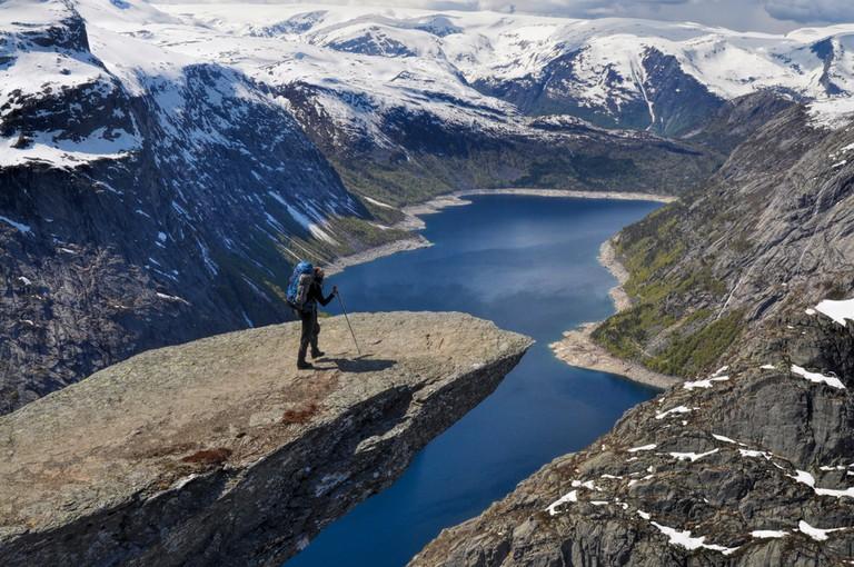 Trolltunga, Norway © Michal Knitl