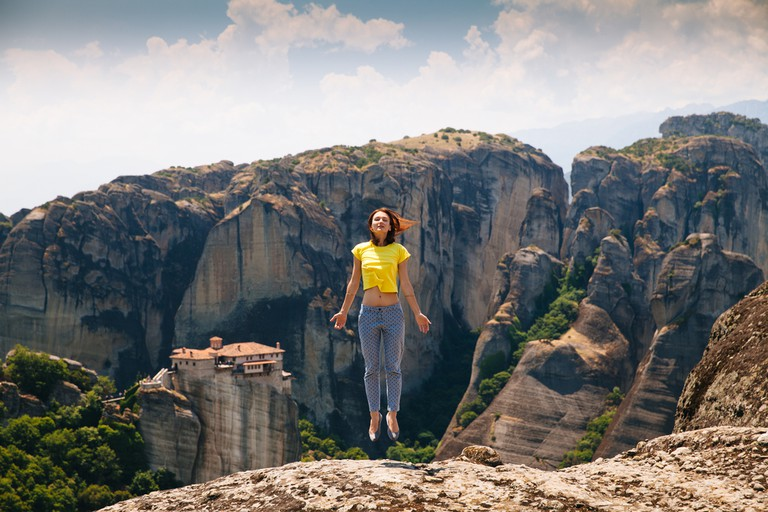 Best climbing in the region Meteora is a climbing and hiking paradise.© Natalia Deriabina / Shutterstock