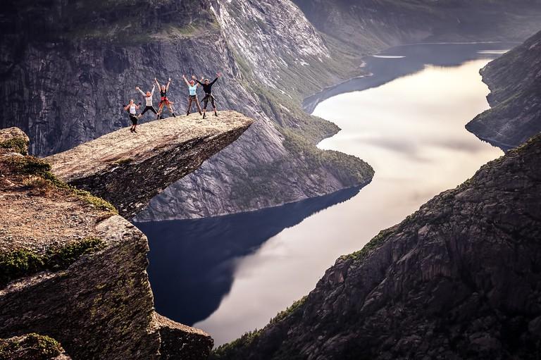 Trolltunga, Norway © maximka87