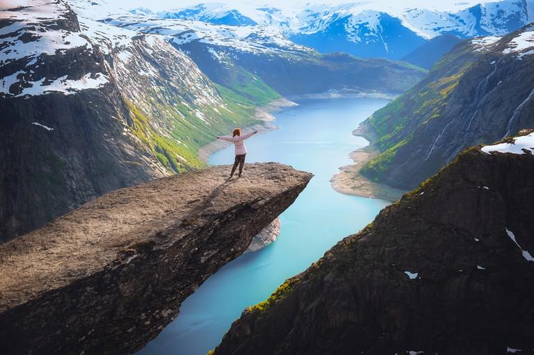 Trolltunga, Norway © ginger_polina_bublik