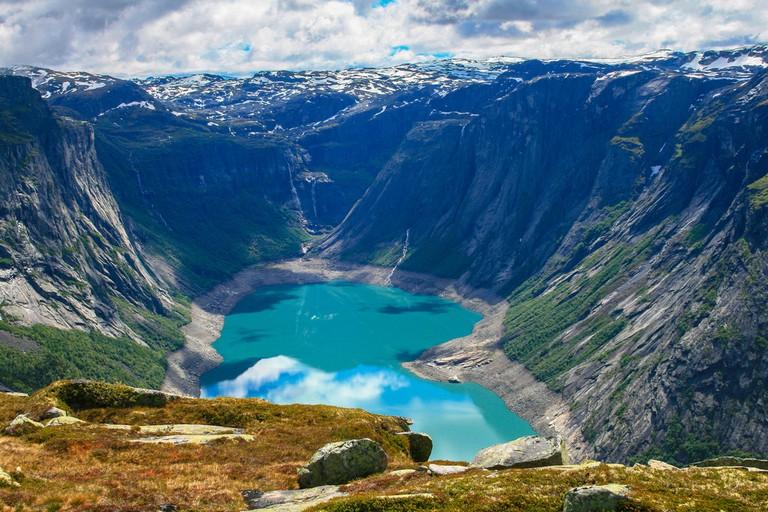 Ringedalsvatnet Lake, Norway © Peter Stein