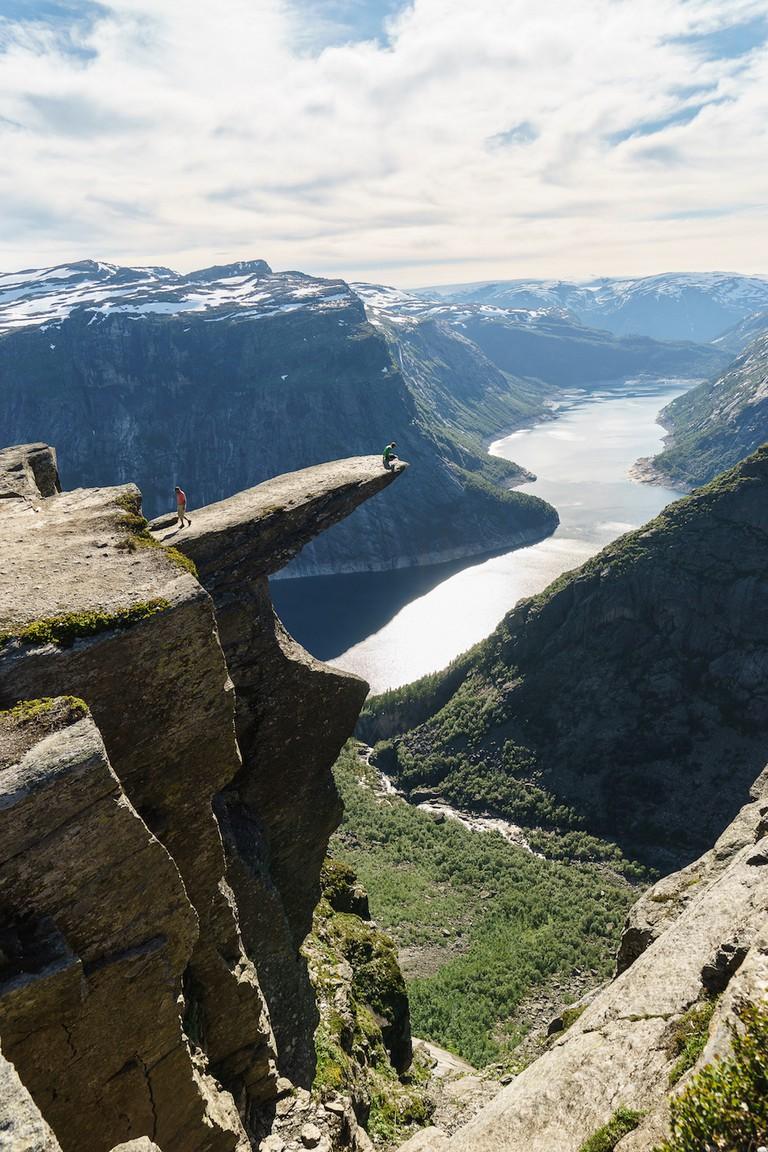 Trolltunga, Norway © HUANG Zheng