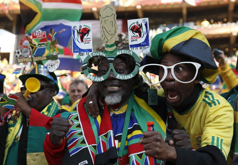 South African football fans at the World Cup | © fstockfoto/Shutterstock