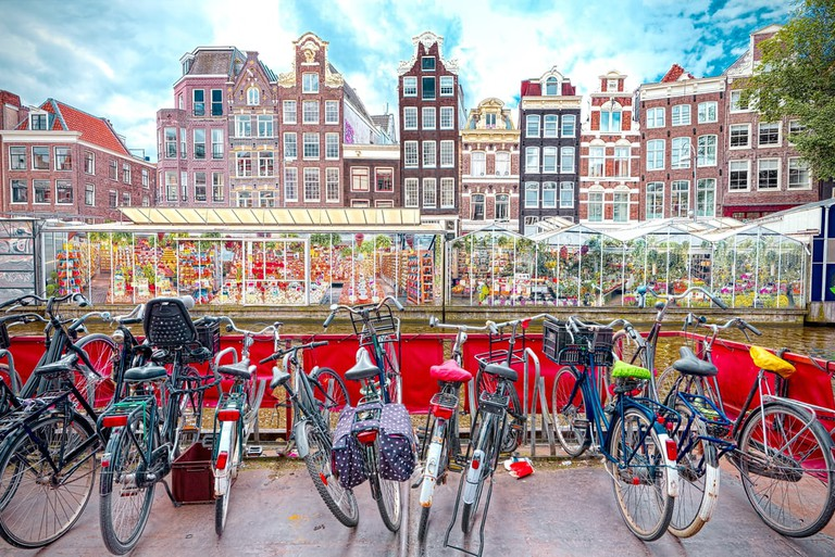Flower market in Amsterdam | © arkanto/Shutterstock