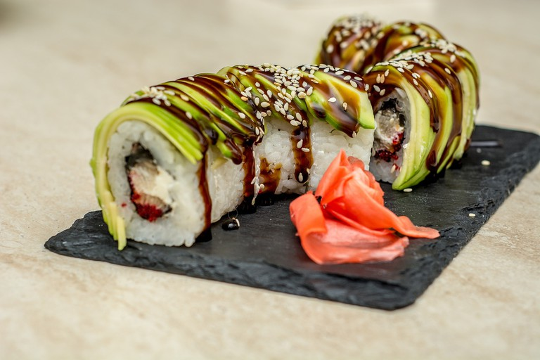 Sushi is a popular and well-made dish in Cape Town